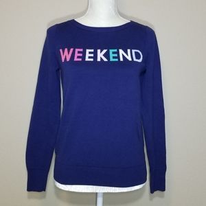 "GAP ""Weekend"" Sweater"